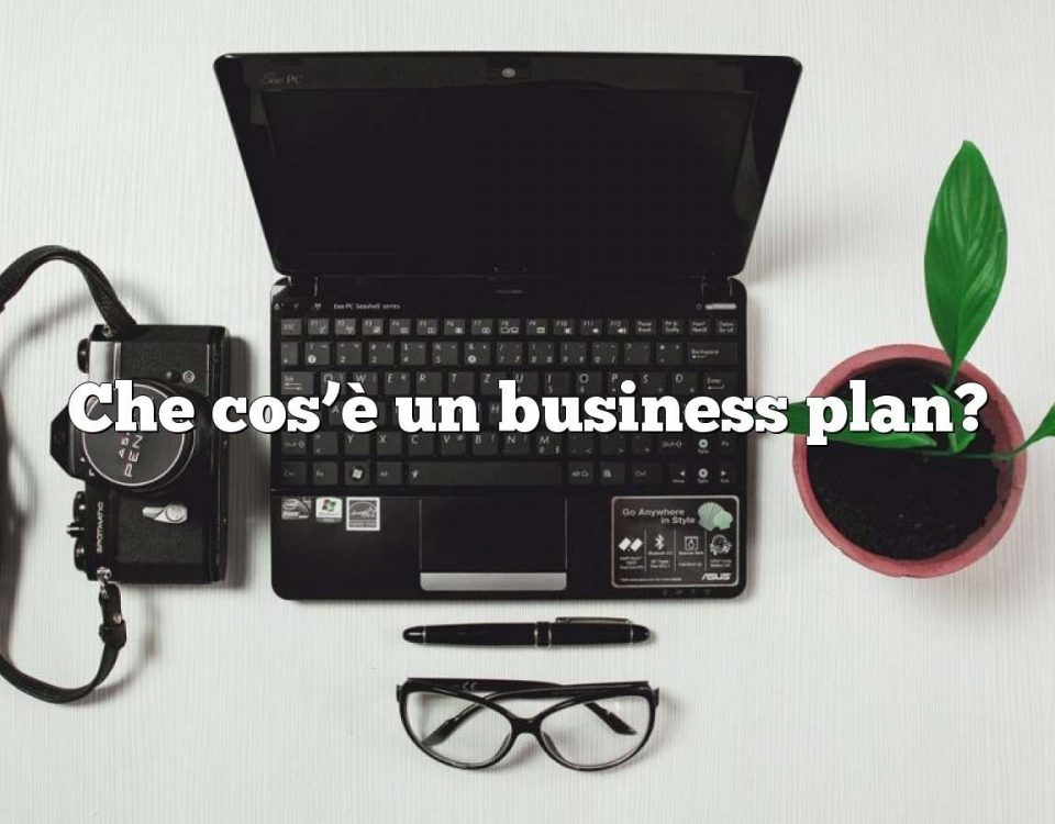 Che cos'è un business plan?
