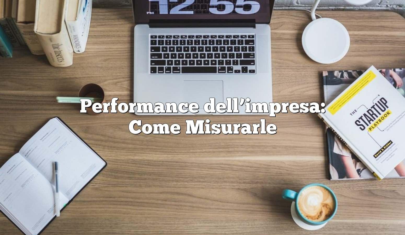 performance aziendale