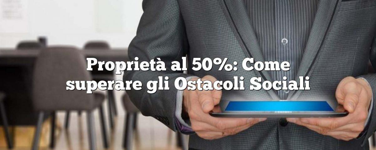 socio al 50 %