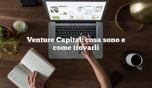 Venture Capital:  cosa sono e come trovarli