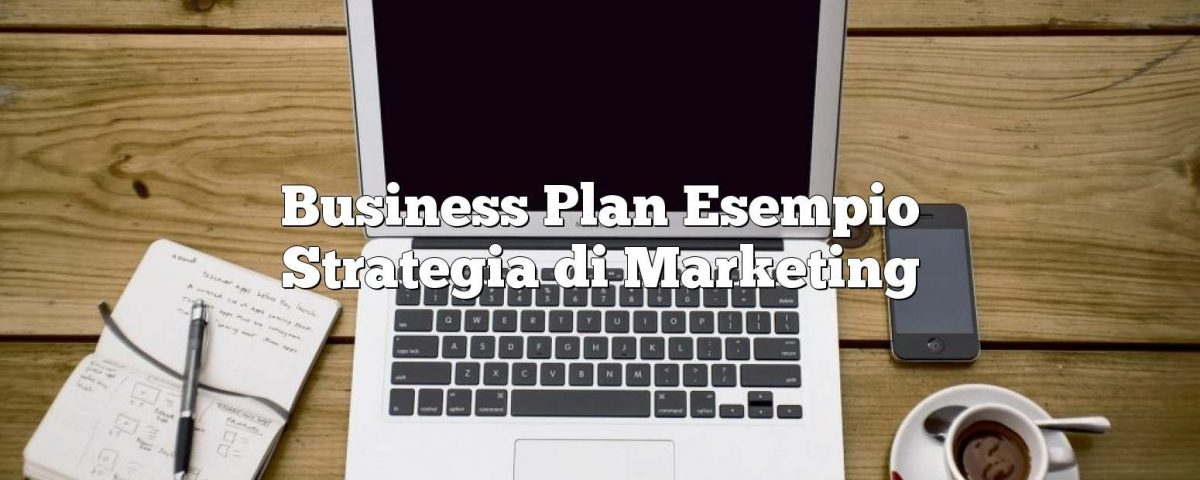 Business Plan Esempio Strategia di Marketing