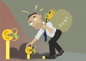 debiti nella liquidazione volontaria
