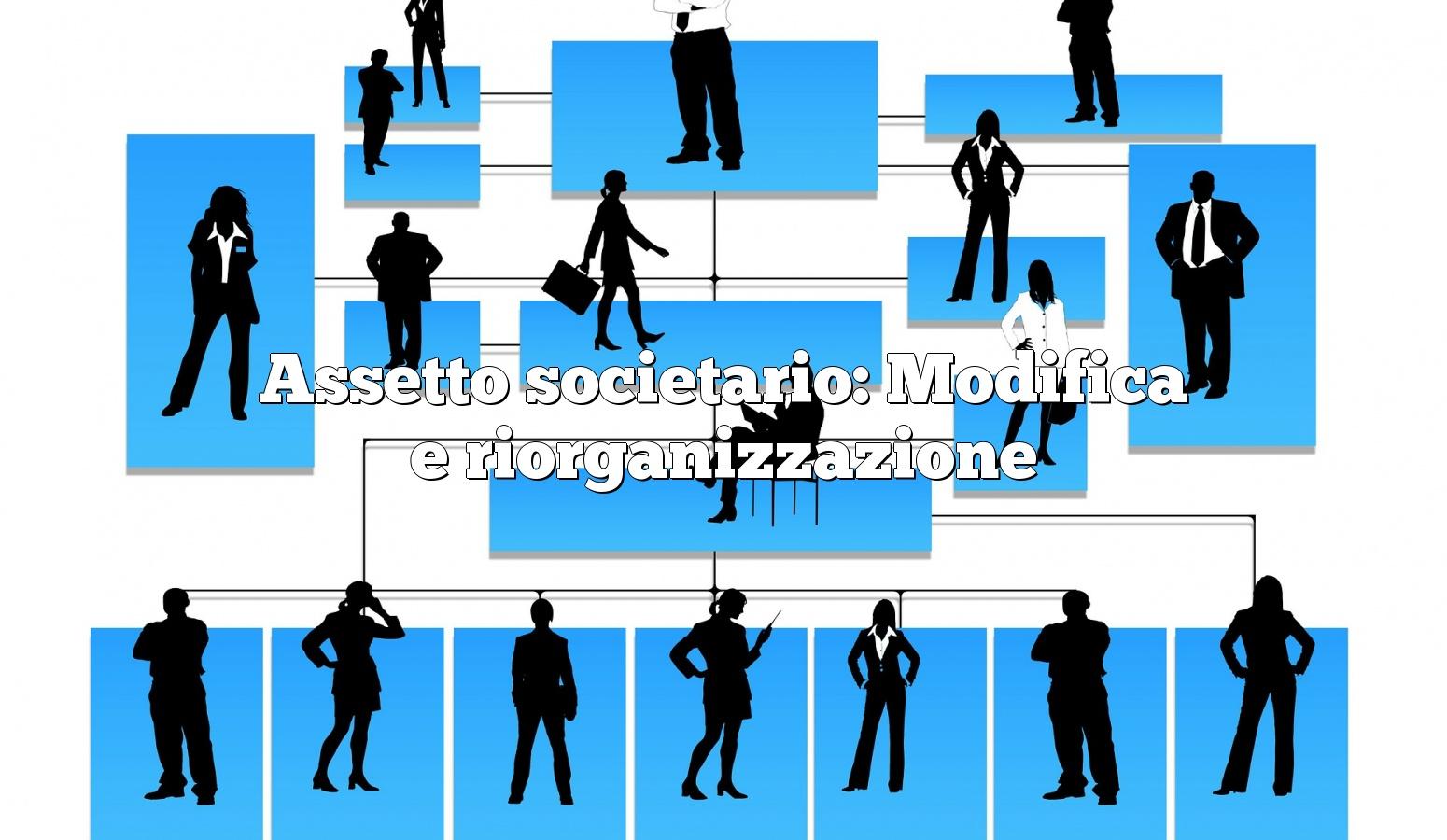 Assetto societario: Modifica e riorganizzazione