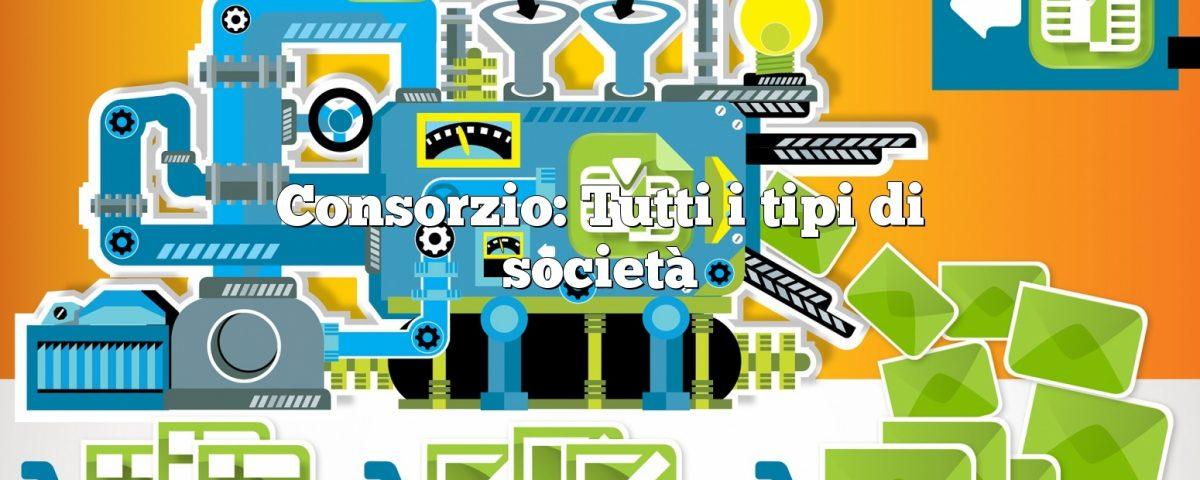 Consorzio: Tutti i tipi di società