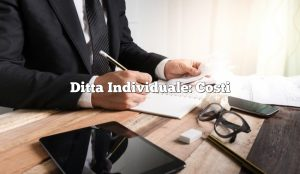 Ditta Individuale: Costi