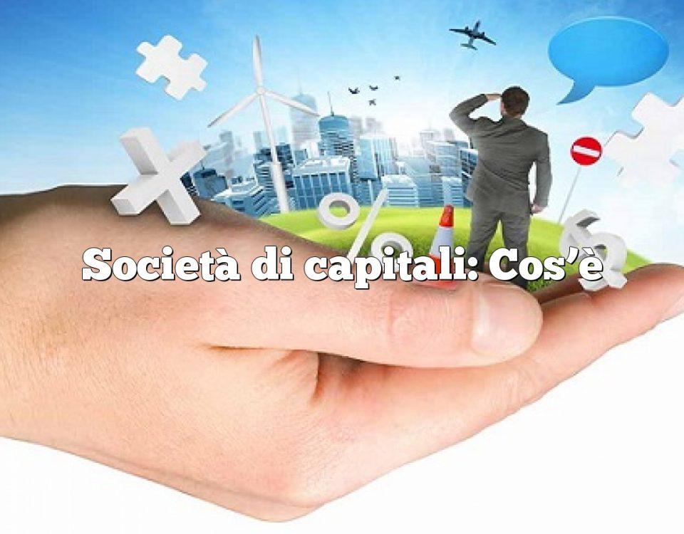 Società di capitali: Cos'è