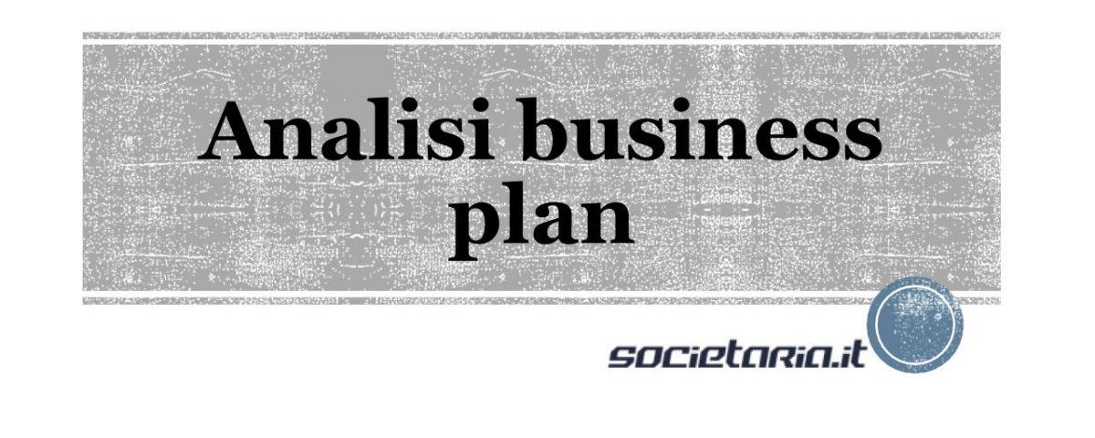 Analisi business plan