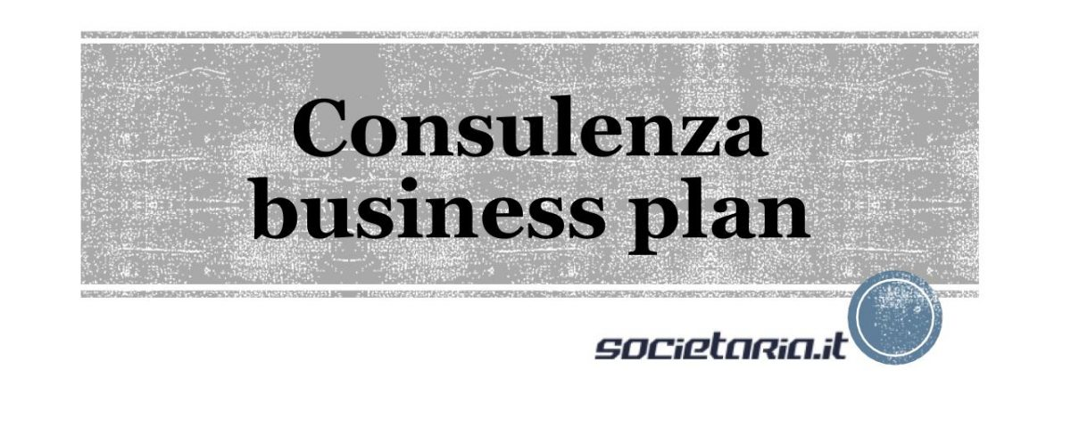 Consulenza business plan