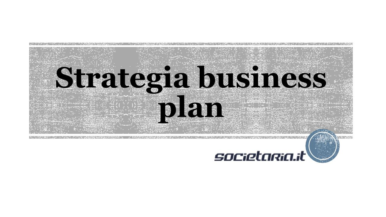 Strategia business plan