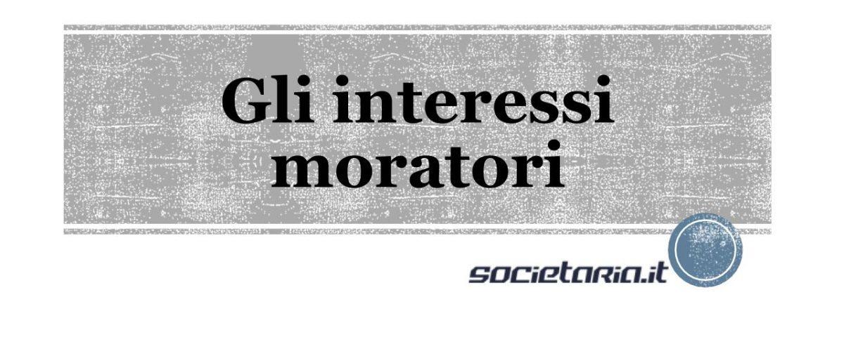 interessi moratori