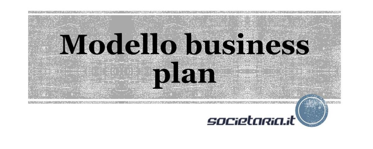 modello business plan